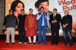 Satish Kaushik, David Dhawan, Shashi Ranjan, Mahesh Bhatt at Wedding Pullav film launch on 17th Aug 2015