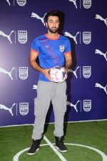 Ranbir Kapoor at Mumbai FC tee launch with PUMA in Tote on 22nd Aug 2015