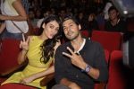 Dino Morea and Mandana Karimi at KC College in Churchgate on 22nd Aug 2015