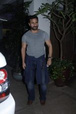 Saif Ali Khan at Phantom screening in Sunny Super Sound on 22nd Aug 2015 (26)_55d9d059550aa.JPG