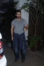 Saif Ali Khan at Phantom screening in Sunny Super Sound on 22nd Aug 2015 (30)_55d9d05e3edc2.JPG