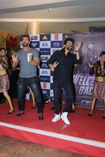 Anil Kapoor, John Abraham at Welcome back promotions in Thane, Mumbai on 23rd Aug 2015
