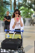 Ileana D_Cruz snapped at airport in Mumbai on 23rd Aug 2015