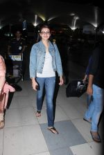 Kajal Aggarwal snapped at airport on 23rd Aug 2015