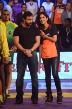 Katrina Kaif, Saif Ali Khan at Pro Kabaddi finals in NSCI on 23rd Aug 2015 (106)_55dabf598df8e.JPG