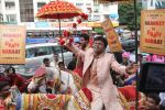 Rajpal Yadav promotes his new film in Andheri on 23rd Aug 2015 (12)_55dabd0c4a609.JPG