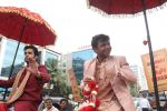 Rajpal Yadav promotes his new film in Andheri on 23rd Aug 2015