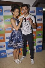Kangana Ranaut and Imran Khan visit Radio City in Bandra, Mumbai on 24th Aug 2015