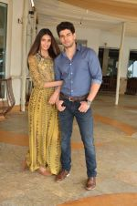 Sooraj Pancholi and Athiya Shetty promote Hero in Mumbai on 24th Aug 2015