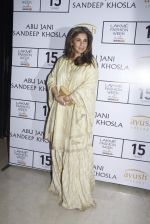 Dimple Kapadia at Abu Jani Red Carpet on 25th Aug 2015