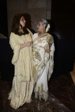Jaya Bachchan, Dimple Kapadia at Abu Jani Red Carpet on 25th Aug 2015