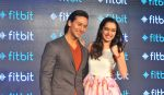 Tiger Shroff and Shraddha Kapoor in Delhi for fitbit launch in Mumbai on 25th Aug 2015