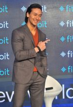 Tiger Shroff in Delhi for fitbit launch in Mumbai on 25th Aug 2015