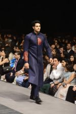 Model walk the ramp for Manish Malhotra Show on day 1 of LIFW on 26th Aug 2015