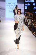 Model walk the ramp for Payal Singhal Show on day 1 of LIFW on 26th Aug 2015