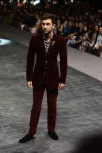 Ranbir Kapoor walk the ramp for Manish Malhotra Show on day 1 of LIFW on 26th Aug 2015