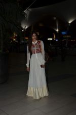 Athiya Shetty snapped at airport on 27th Aug 2015
