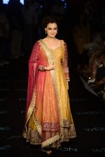 Dia Mirza at Ritu Kumar Show on day 2 of lifw on 27th Aug 2015