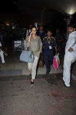 Sridevi snapped at airport on 27th Aug 2015