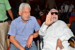 Kader Khan, Om Puri at film Hogaya Dimaagh Ka Dahi press meet in Mumbai on 28th Aug 2015 (3)_55e161a2e642c.JPG