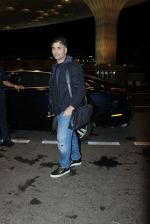 Karan Johar snapped at international airport in Mumbai on 28th Aug 2015