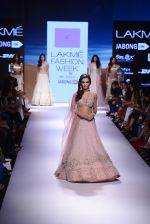 Amy Jackson walks for Anushree Reddy Show at LIFW Day 5 on 29th Aug 2015