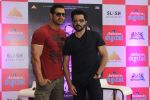 John Abraham and Anil Kapoor at Welcome Back promotions in Reliance Digital, Juhu on 29th Aug 2015