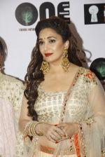 Madhuri Dixit at vivek oberoi_s charity event in Mumbai on 29th Aug 2015 (40)_55e30a2464b49.JPG