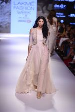 Model walks for Anushree Reddy Show at LIFW Day 5 on 29th Aug 2015