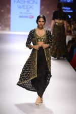 Model walks for Arpita Mehta Show at LIFW Day 5 on 29th Aug 2015