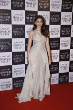 Aditi Rao Hydari at the grand finale of Lakme Fashion Week 2015 on 30th Aug 2015