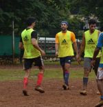 Ranbir Kapoor snapped at soccer match in Mumbai on 30th Aug 2015