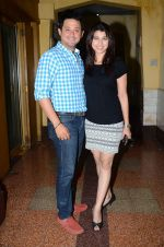 Tejaswini Pandit, Swapnil Joshi at Marathi film Tu Hi Re song recording in Famous on 31st Aug 2015 (78)_55e555886b177.JPG