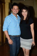 Tejaswini Pandit, Swapnil Joshi at Marathi film Tu Hi Re song recording in Famous on 31st Aug 2015 (79)_55e5558ab8116.JPG