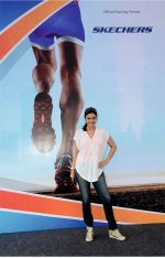 Hrishtaa Bhatt  at the   Mirchi Monsoon Half Marathon