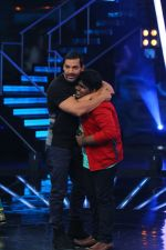John Abraham on Indian Idol Location on 31st Aug 2015