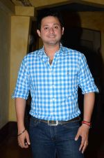 Swapnil Joshi at Marathi film Tu Hi Re song recording in Famous on 31st Aug 2015