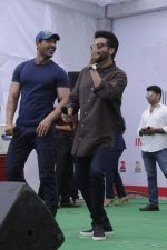 Anil Kapoor, John Abraham at welcome back delhi promotions in Mumbai on 1st Sept 2015