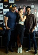 Anil Kapoor, Shruti Haasan, John Abraham at welcome back delhi promotions in Mumbai on 1st Sept 2015
