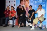 Hrithik Roshan, Sonam Kapoor, Bhushan Kumar, Ahmed Khan, Neeraj Roy at the launch of _Dheere Dheere Se_ song on 1st Aug 2015