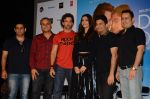 Hrithik Roshan, Sonam Kapoor, Bhushan Kumar, Neeraj Roy at the launch of _Dheere Dheere Se_ song on 1st Aug 2015