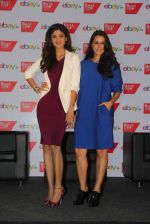 Shilpa Shetty and Neha Dhupia promote Best Deal TV in Mumbai on 1st Sept 2015