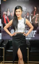 Shruti Haasan at welcome back delhi promotions in Mumbai on 1st Sept 2015