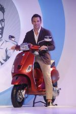 at Vespa press meet to welcome legendary soccer player Allesandro Del Pierro in Mumbai on 1st Sept 2015
