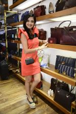 Amy Billimoria at Hidesign store for Vogue Fashion Night Out on 2nd Sept 2015