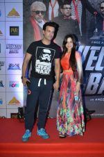 Aamir Ali, Sanjeeda Sheikh at welcome back premiere in Mumbai on 3rd  Sept 2015 (39)_55e946701275f.JPG