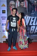 Aamir Ali, Sanjeeda Sheikh at welcome back premiere in Mumbai on 3rd  Sept 2015