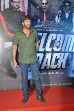 Chunky Pandey at welcome back premiere in Mumbai on 3rd  Sept 2015