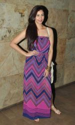 Daisy Shah at the screening of Hollywood movie Transporter Refuelled hosted by Joe Rajan at Light Box Theatre.