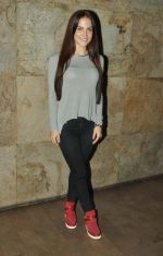 Elli Avram at the screening of Hollywood movie Transporter Refuelled hosted by Joe Rajan at Light Box Theatre.